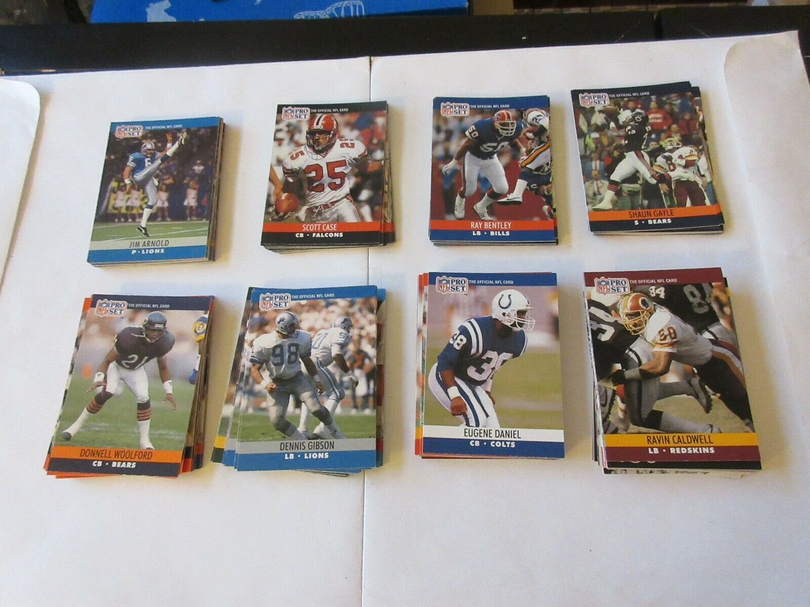 1990 Pro Set Football , 195Cards , Mostly Commons , Nea