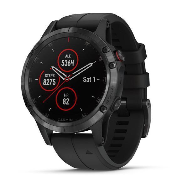 Orologio Garmin FENIX 5 PLUS Smartwatch Nero Music 47mm Sapphire 010-01988-01