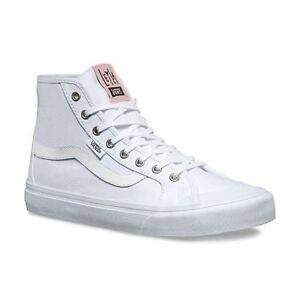 f33046496f VANS Black Ball Hi SF (Leila Hurst) True White Skate Shoes Womens ...