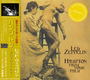 LED-ZEPPELIN-Hampton-aus-Ihrem-Palm-2cd-9th-September-1971-Ahornblatt-Garten
