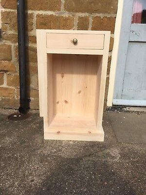 Nightstands Shop For Cheap H80 W35 D50 Bespoke Untreated Cupboard Drawer Chunky Hall Bathroom Kitchen Furniture