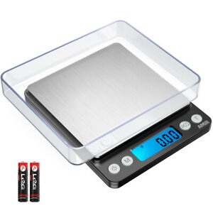 0.01g-500g Digital LCD Electronic/_Balance Jewelry @ Food Weight Precision Scale