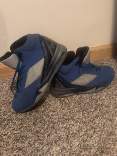 Blue Jordan Flight Remix Shoes (Size 8.5)