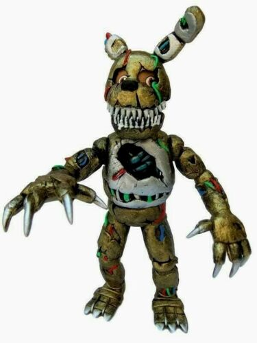 """mexican FIVE NIGHTS AT FREDDYS TWISTED SPRINGTRAP 8/"""" action Figure ANIMATRONIC"""