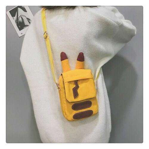 Bags Bag Canvas Pikachu Gift Messenger Pokémon Single Cute Shoulder Satchel