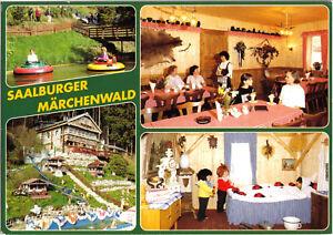 AK-Saalburg-Thuer-Saalburger-Maerchenwald-vier-Abb-um-1995