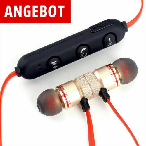 Super Bass Bluetooth In-Ear Kopfhörer Sport Ohrhörer Headset Earphone Headphone