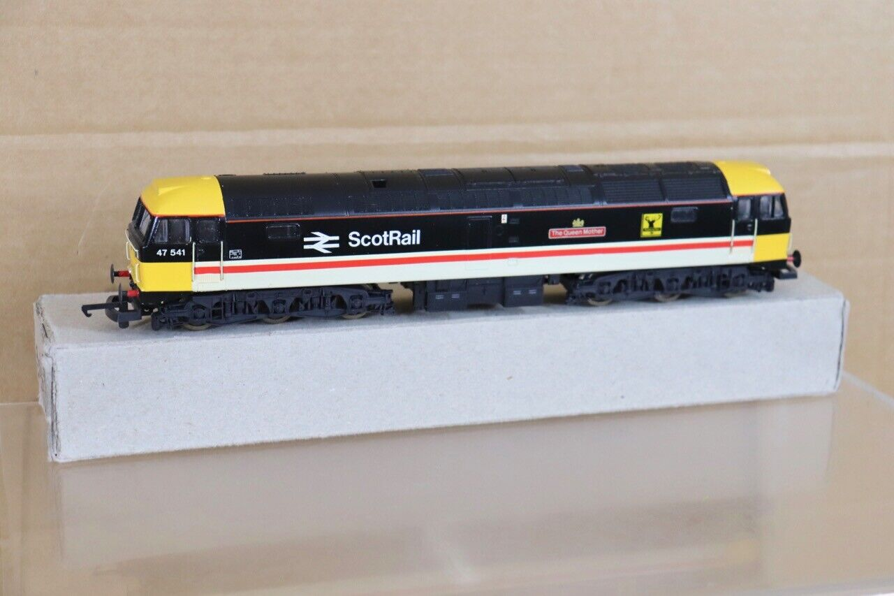 LIMA REFINISHED BR SCOTRAIL INTERCITY CLASS 47 LOCO 47541 The QUEEN MOTHER nt