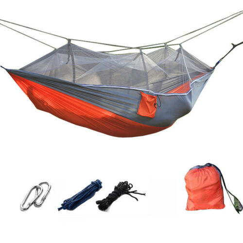 Mosquito Net Portable Outdoor Travel Camping Hammock Hanging Sleeping Bed