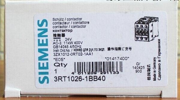 New & Genuine Siemens 3RT1024-1BB40 3RT10241BB40  RS8