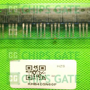 5PCS-4D5N60F-KHB4D5N60F-N-Channel-MOSFET-transistor