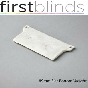 50-x-VERTICAL-BLINDS-BOTTOM-WEIGHTS-FOR-3-5-034-89mm-REPAIRS-amp-SPARE-PARTS