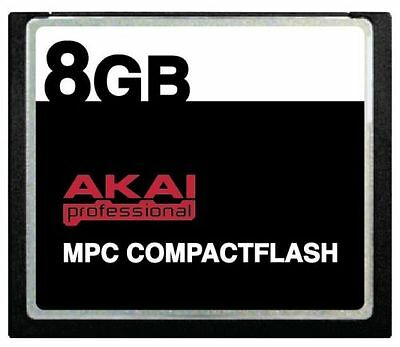 8GB AKAI CF Memory Card + Samples for MPC 5000 MPC500 MPC1000 MPC2500 MPC5000