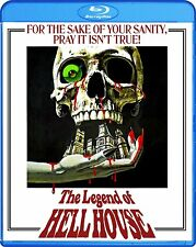 THE LEGEND OF HELL HOUSE (1973 Roddy McDowall)  -  Blu Ray - Sealed Region free