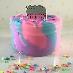 Slime-034-Cotton-Kitty-Frosting-034-DIY-Scented-Butter-Charm-Inflating-Soft-6-8-oz