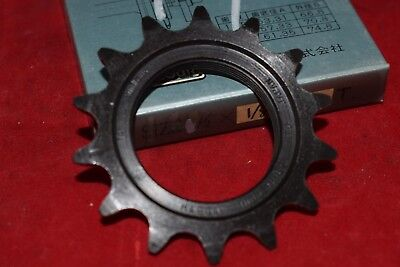 "Cycling Charitable Suntour Track Sprocket Cog 1/2' X 1 Bicycle Components & Parts 8"" 14t Njs Single Speed Black Steel Nos"