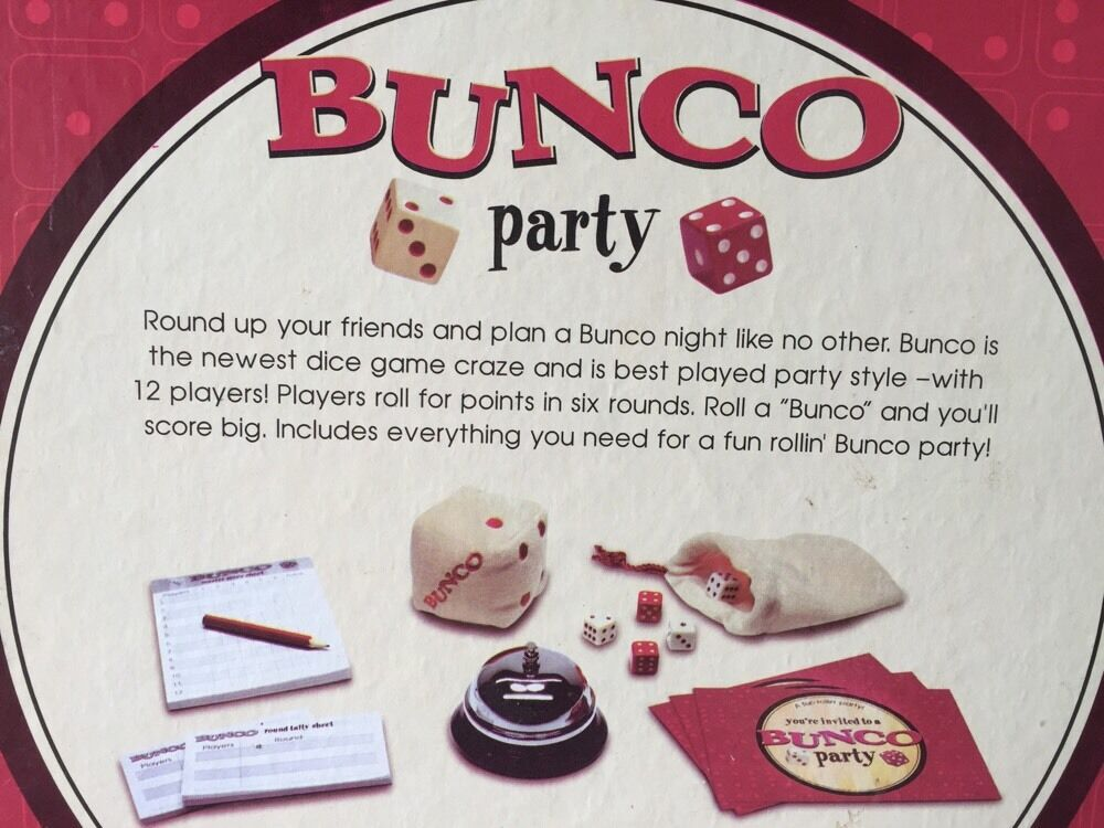 922) BUNCO party ULTIMATE DICE GAME GAME DICE 89d408