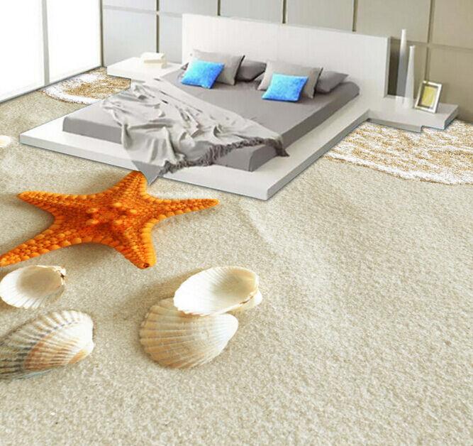 3D Starfish 749 Fototapeten Wandbild Fototapete Tapete Familie DE Lemon