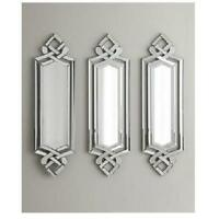 Horchow Venetian Frameless Wall Mirror Beveled Neiman Marcus Scrolled