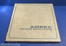 VINTAGE AMPEX 456 PRECISION MAGNETIC PROFESSIONAL QUALITY SOUND RECORDING TAPE