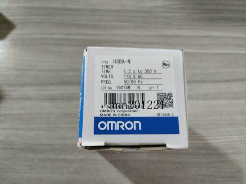 1PC OMRON time relay H3BA-N AC110V