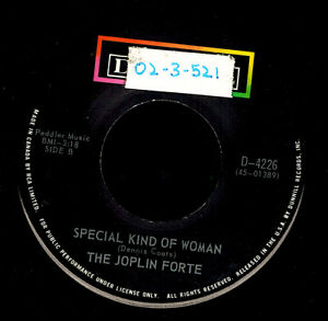 MFD-IN-CANADA-1970-COUNTRY-FOLK-ROCK-45-RPM-THE-JOPLIN-FORTE-THE-BALLAD-OF-BUT