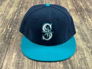 Seattle Mariners Blue/Green MLB Baseball Hat - New Era - 7 ⅛