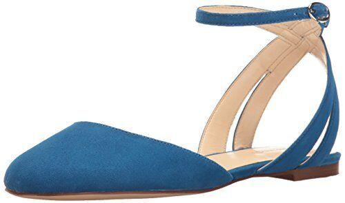 Nine West Damenschuhe Begany Suede Ballet Flat- Pick SZ/Farbe.