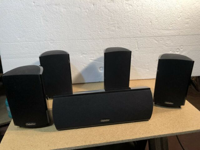 Definitive Technology ProMonitor 600 pro center 600 Speakers work perfect