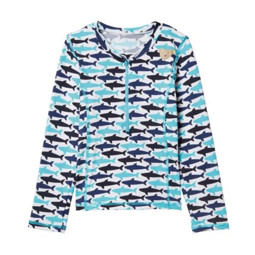 STEIFF® Jungen Beachwear Sonnenschutz-Shirt Haie UV Schutz 50 80-122 2019 NEU!