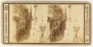 Napoli-Foto-Giorgio-Sommer-Stereo-PL55L5n-Vintage-Albumina