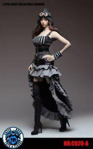1//6 SUPER DUCK C020 Female Steam Punk Dress Clothes Set Fit For 12/'/' Figure