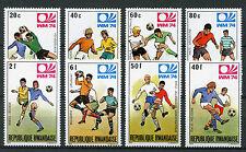 Rwanda 1974 MNH World Cup Football West Germany WM74 8v Set Sports Stamps
