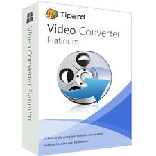 Video Converter Platinum Tipard dt.Vollversion lebenslange Lizenz  ESD Download