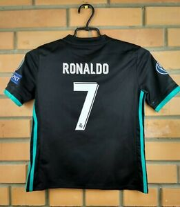 uk availability 4a314 3a4b8 Details about 10/10 Ronaldo Real Madrid jersey 9-10 years 2018 shirt B31092  soccer Adidas