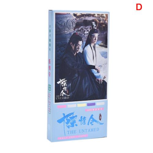 New 1230//310pcs The Untamed Postcard Sticker Star Poster Xiao Zhan Wang Yibo SK