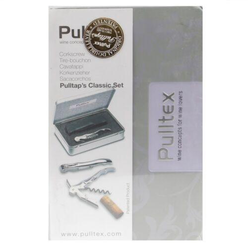 Pulltex Classic Silver Corkscrew Set