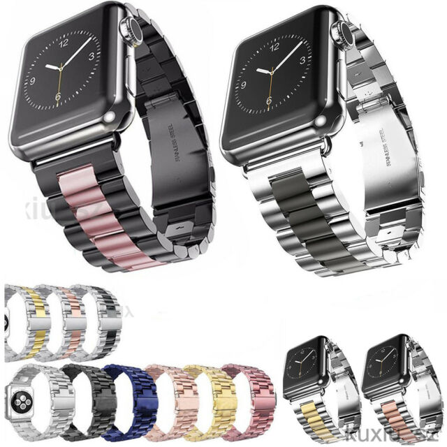 Stainless Steel Watch Bands Strap For Apple Watch iWatch Series 5/4/3/2 38mm/44m