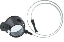 Gift Idea 6X 31mm Illuminated Hands Free LED Eye Loupe Magnifier #MI1216HB Fr US
