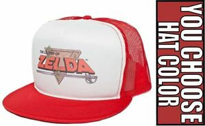 e77a9f30 New Retro LEGEND OF ZELDA Hat Cap Baseball Trucker Snapback Flat ...