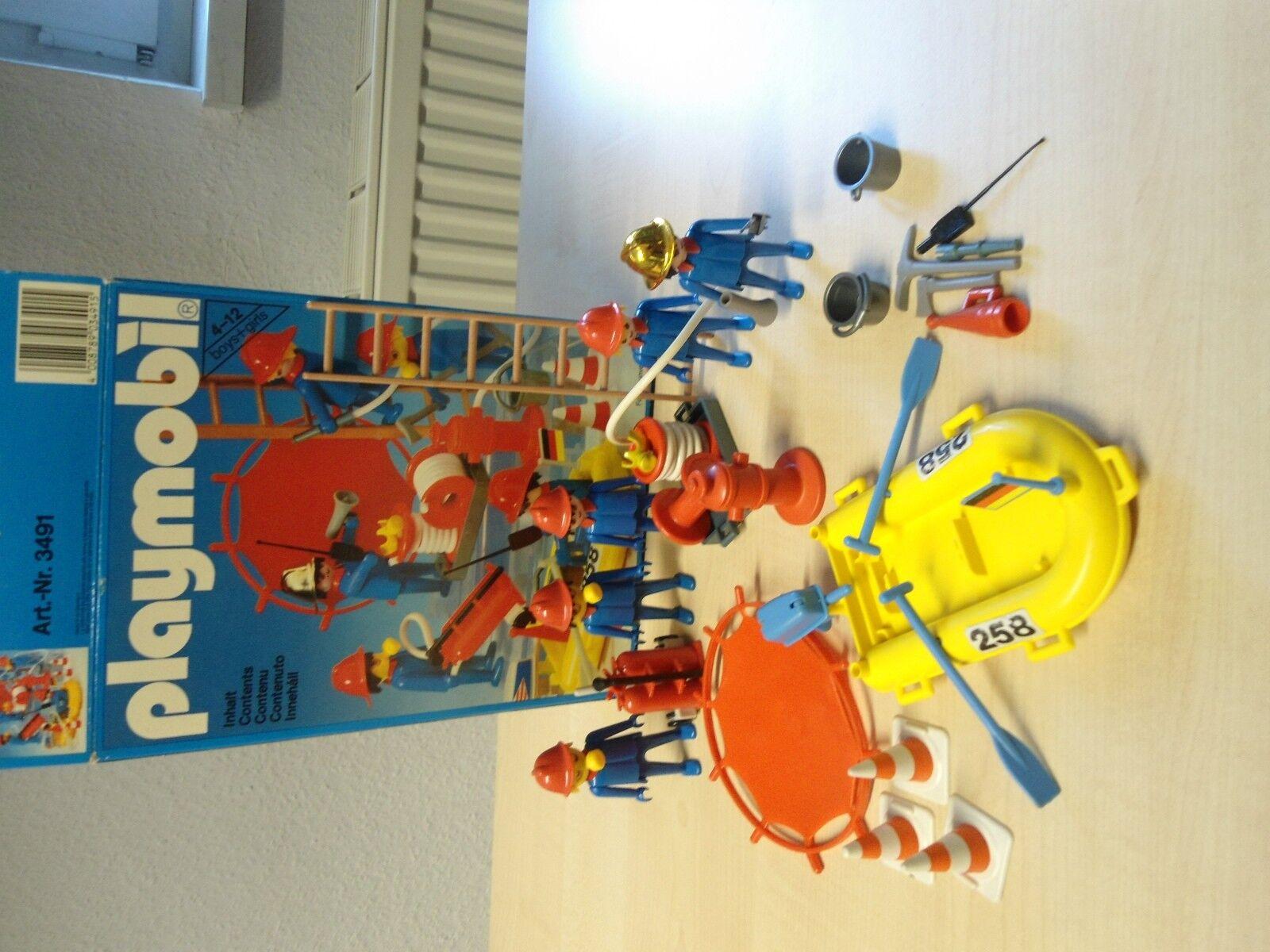 """Playmobil Klicky Set 3491 """"Feuerwehr """"Feuerwehr """"Feuerwehr   gebraucht c460e2"""
