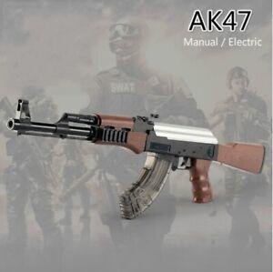 Plastic-AK47-Rifle-Toy-Crystal-Ball-Water-Bullet-Toy-Gun-Gel-Blaster-Kid-039-s-Gifts