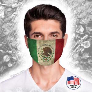 Escudo-Mexico-Flag-Face-Mask-Washable-reusable-soft-comfortable-Free-shipping