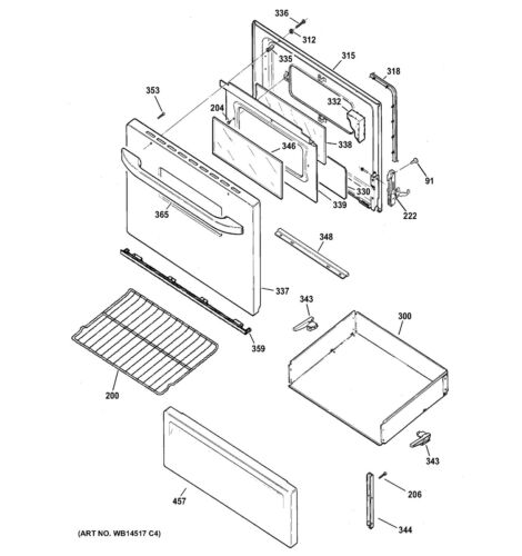 Details about  /NEW OEM GE Range//Stove//Oven HINGE DOOR WB10X21978