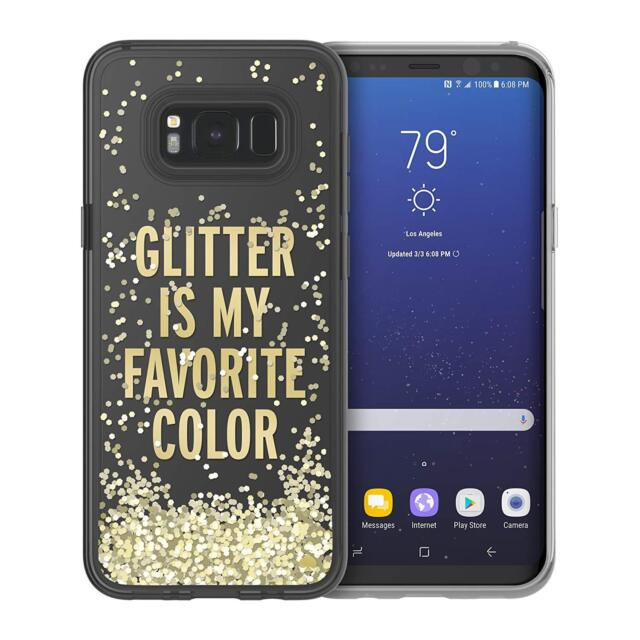on sale 74316 8cb62 Kate Spade Glitter Is My Favorite Color Liquid Case for Samsung Galaxy S8  Plus