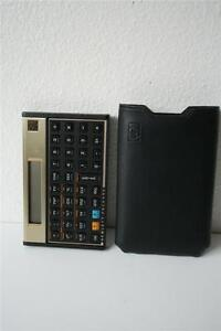 Hewlett Packard HP-12C Calculator ****