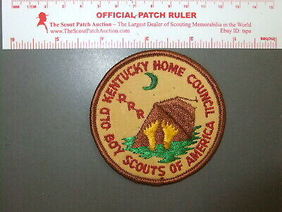 Boy Scout Rough River Reservation Old Kentucky Home Council 7104FF