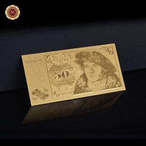 WR-Gold-Banknote-50-Deutsche-Mark-1980-Souvenir