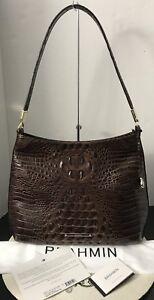 Melbourne Chestnut Color Genuine Leather Farrah schoudertas Brahmin Pretty f6YvI7ybmg