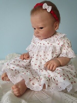 Baby Girl Dress And Pants Set Charmine Handmade Tuppence Brand New 000,00,0